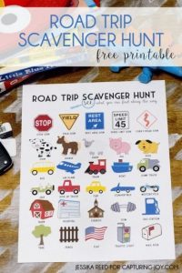Road Trip Bingo I SPY3 best car games for kids the-ultimate-guide-to-road-trip-entertainment-by-Unplugged-Family-Time