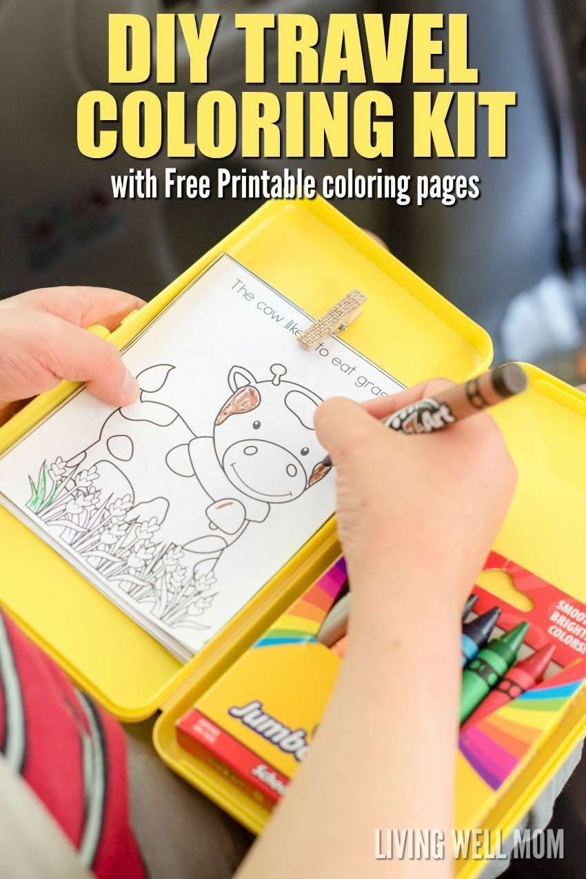 colouring best car games for kids the-ultimate-guide-to-road-trip-entertainment-by-Unplugged-Family-Time