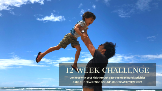 SCREEN FREE ACTIVITIES 12 WEEK CHALLENGE