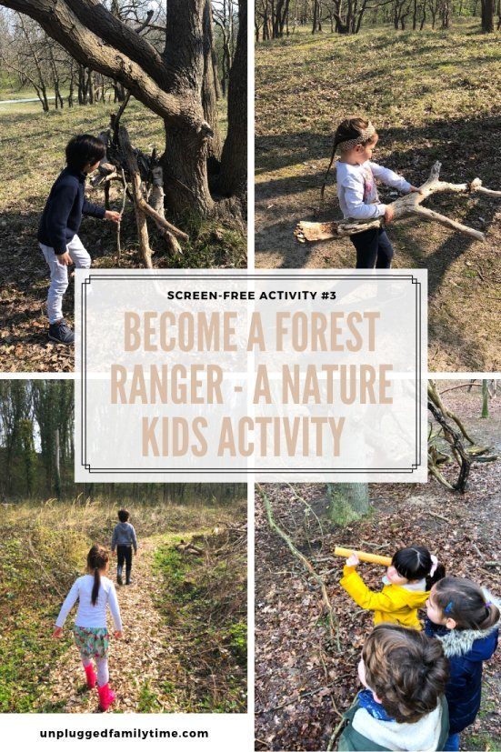 Kids Forest Rangers Nature-Activity-Screen-Free-Challenge-Unplugged-Family-Time