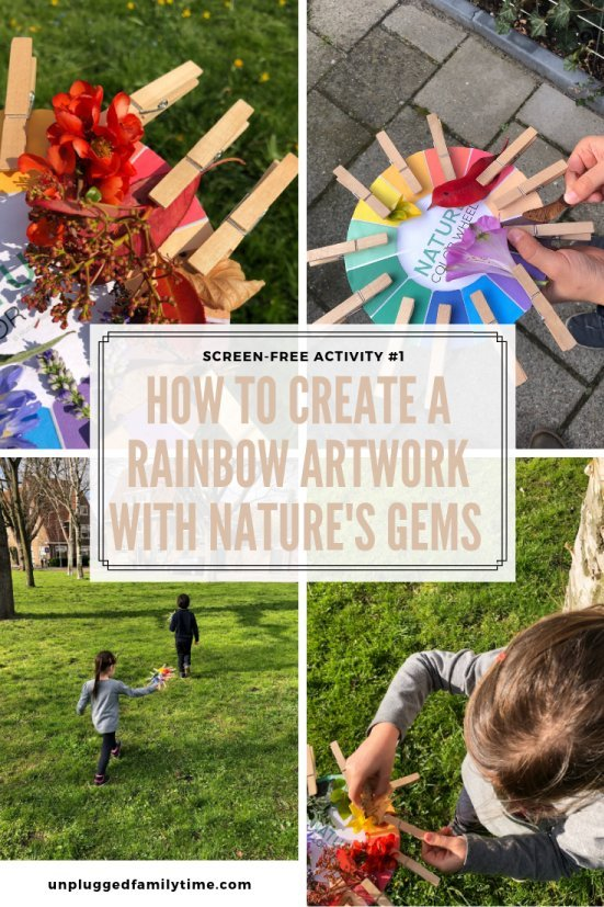 Rainbow-Nature-Crafts-for-Kids-Screen-free-activity-1-12-Challenge-UnpluggedFamilyTime