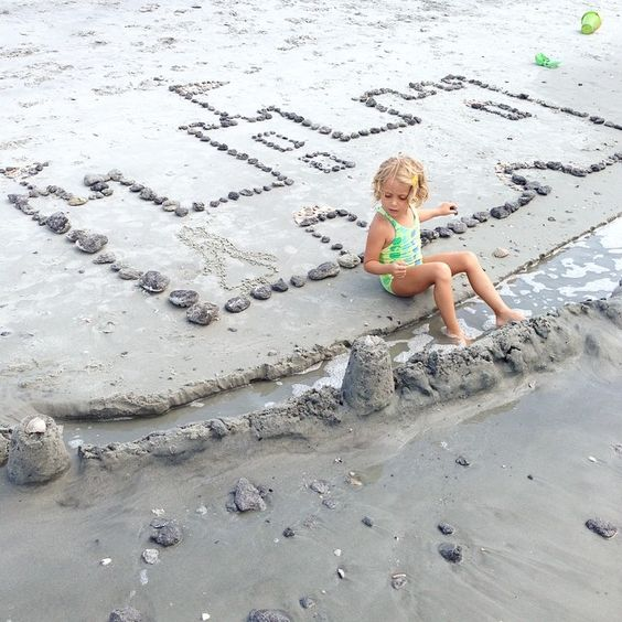 Beach Craft Activity Sand Castle Unplugged Family Time