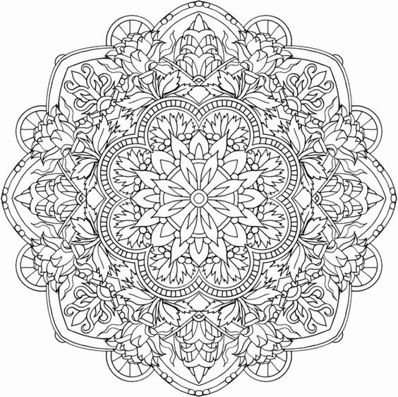 Printable Mandala Coloring Pages for Mandala Art Kids Activity