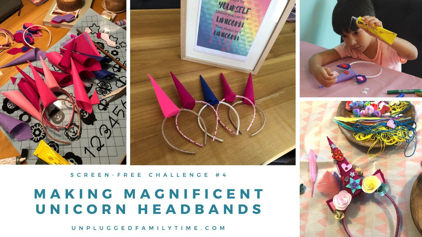 Unicorn Headband Results Screen-Free-Challenge-Unplugged-Family-Time-1