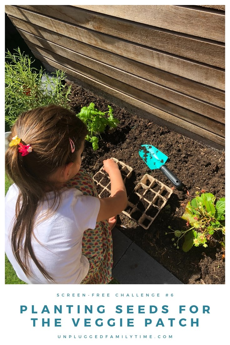 Kids Vegetable Garden Results Unplugged Family Time