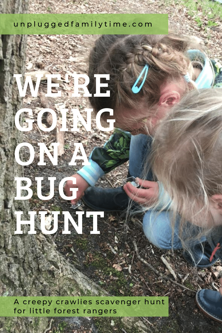 Scavenger Hunt Ideas Going on a Bug Hunt Unplugged Family Time
